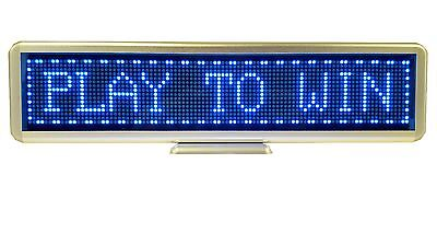 Programmable Scrolling SMD Dot Matrix LED Mini  Display (16x96 pixels) Blue
