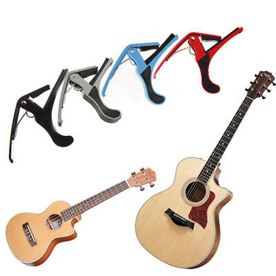 Fashion Quick Change Clamp Key Capo Guitar Capo Can Clamp On Most Fret Board