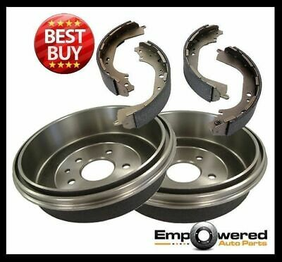 Ford F250 1967-1979 REAR BRAKE DRUMS with WARRANTY + BRAKE SHOES RDA6704 PAIR