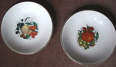 weatherby hanley england falcon ware 2 small pin dishes