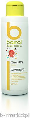Baby Shampoo for hair and remove yellow crusts Barral 200 ml.