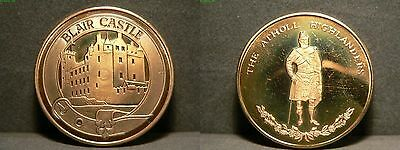 Blair Castle/Highlanders Medaille - Bronze - 20,3g - 38mm