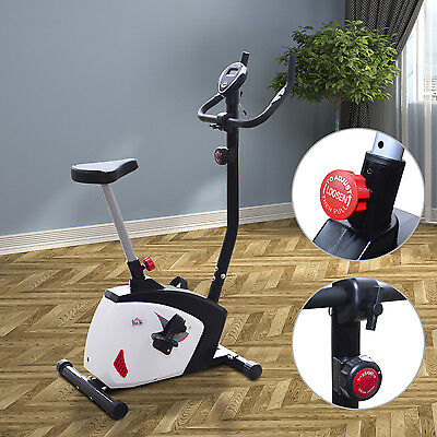 HOMCOM Magnetic Exercise Bike Indoor Sports Home Cardio Workout Machine Fitness