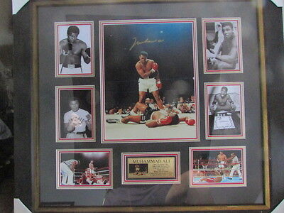 Genuine Muhammad Ali Personally Signed & Framed-Coa