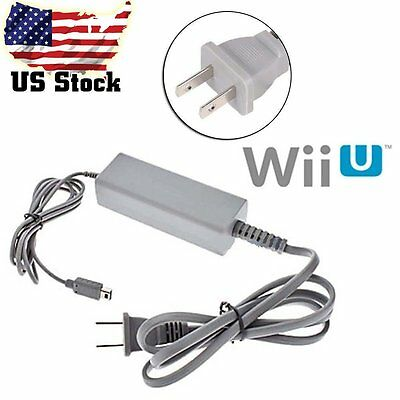 US Plug AC Charger Power Supply Adapter for Nintendo Wii U Console Gamepad HL