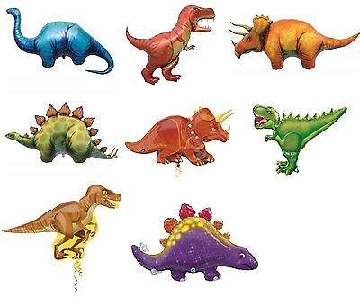 Assorted Giant Dinosaur Foil Balloon Birthday Prehistoric Party Decoration