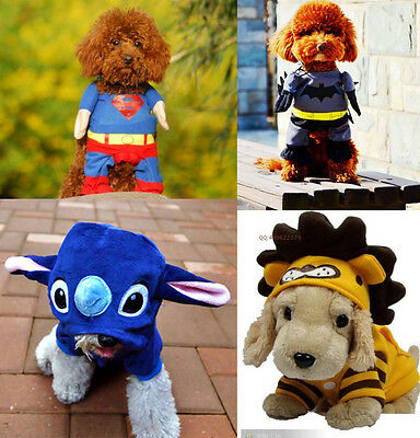 Beau Mignon Adorable animal domestique chien chiot costume Cosplay costume