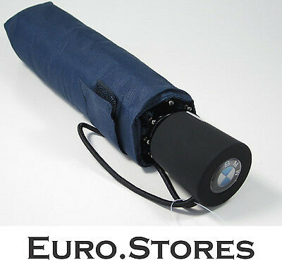 BMW Collection Folding Umbrella Dark Blue 80562211970 Genuine New
