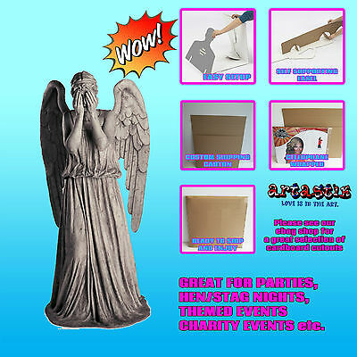 Weeping Angel Blink Angel Doctor Who LIFESIZE CARDBOARD CUTOUT