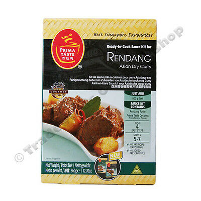 Prima Taste Rendang Asian Dry Curry