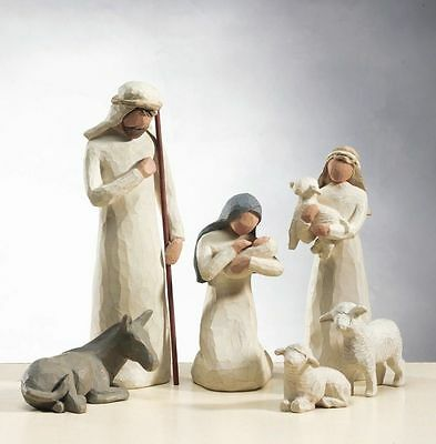 Willow Tree Nativity 6 piece Set Demdaco