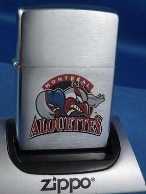 Zippo Montreal Alouettes Cfl Canada Football Team Logo Lighter Retired 2005