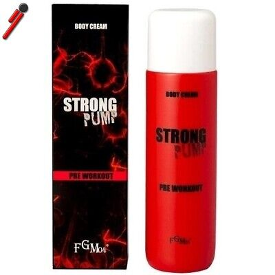 FGM04 - Strong Pump 200 ml. Crema tonica pre-allenamento