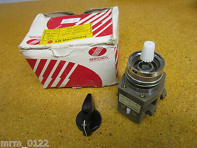 Hanyoung 3-3-2253 Cam Switch 10A 250VAC New