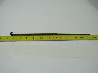 """PCS .1340"""" X 12.186"""" Plastic Injection Mold Ejector Sleeve W/Shoulder"""
