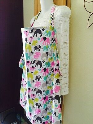 NEW  />NURSING COVER hider* BREASTFEEDING COVER Elephants Cool