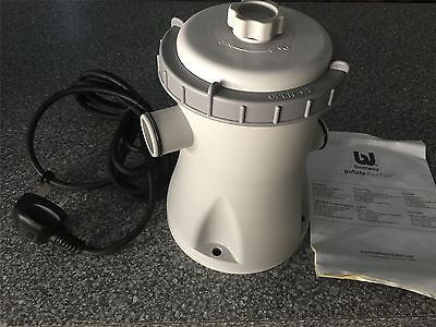 New Bestway Swimming Pool Electric Flowclear Filter Pump 330 Gal/H BW58145