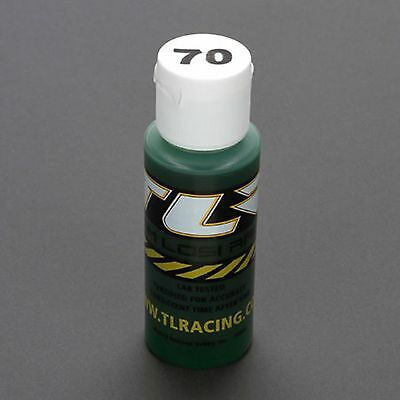 70wt Silicone Shock Oil 2 oz  Team Losi R/C Shock Oil TLR74015
