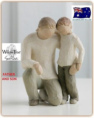 FATHER AND SON Demdaco Willow Tree Figurine By Susan Lordi BRAND NEW IN BOX
