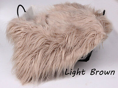 HOT Newborn Baby Soft Brown Faux Fur Rugs Mat Blanket Photography Props Backdrop