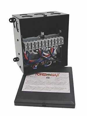 PowerMax PMTS-30 30 Amp Automatic Transfer Switch Brand New!