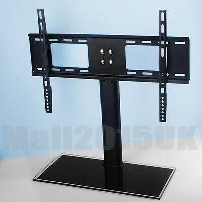 "Table Top Replacement TV Pedestal Stand Base fits 37""-55"" For LED LCD Plasma"