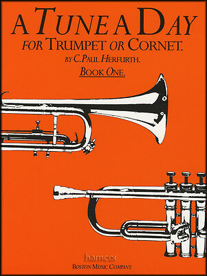 A Tune A Day for Trumpet or Cornet Book 1 Learn How to Play Beginner Method