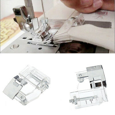 Home Binding Snap-on Bias Binder Presser Foot For Domestic Sewing Machine New