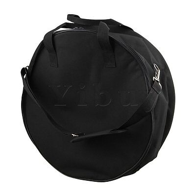 "600D Black Waterproof Oxford Cloth Padded Snare Drum Bag 17.3"" x 7.08"""