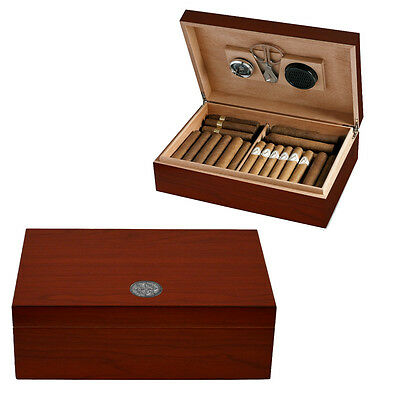 Cave A Cigare 50 Cigares Egoist Cerisier Kit Neuf