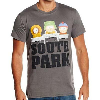 South Park - Class Room Mens Short Sleeve Cotton T-Shirt - New & Official In Bag