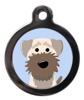 Border Terrier Breed Custom Pet Tags - Unique Dog ID Collar Tag - ENGRAVED FREE