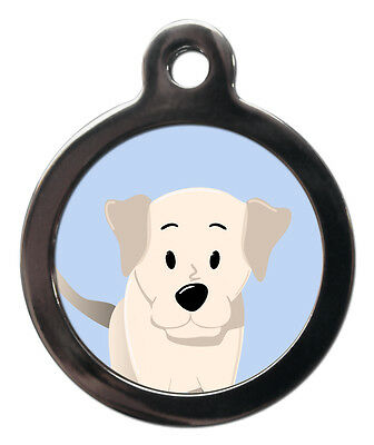 Labrador Breed Cute Fun Pet Tags - Dog Cat ID Collar Tag - ENGRAVED FREE