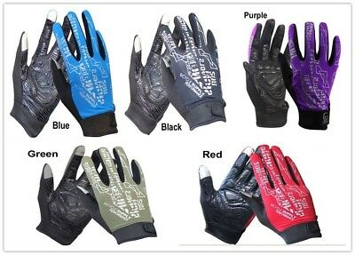 Outdoor Sports Cycling Climbing Anti-Slip Thin Touch Screen Full Finger Gloves