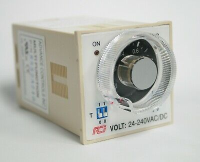 Timer Multi Function / Range / Voltage 24-240V Ac/dc Up To 10 Hrs 8 Pin Plug In