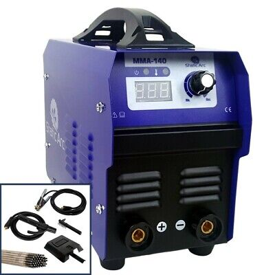 Mma 140 Amp Igbt Inverter Dc Arc Stick Welder Portable Welding Machine 230V