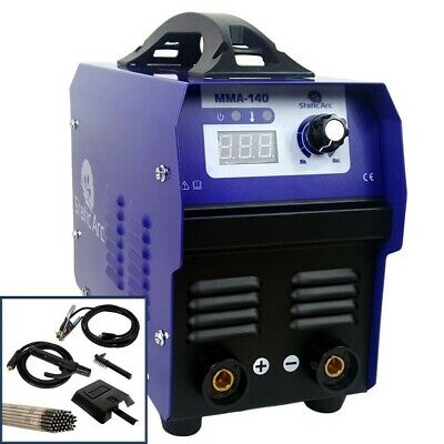Mma 140A Igbt Inverter Dc Arc Stick Welder Portable Welding Machine + Electrodes