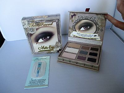 Too Faced Matte Eye Shadow Collection 3 x 2g + 6 x 0.9g  -  NO BOX