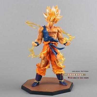 Anime Dragon Ball Z Super Saiyan Son Goku PVC Action Figure Collectible Toy