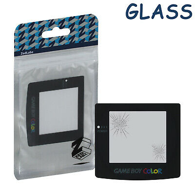Screen lens for Game Boy Color GLASS Nintendo replacement cover colour ZedLabz