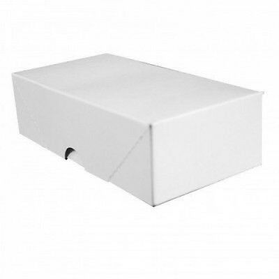 White Business Card Folding Boxes-25 Per Pack