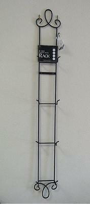 """Augusta Vertical Black Display Rack for Four 6.5"""" – 8.25"""" Plates, 43"""" Tall"""