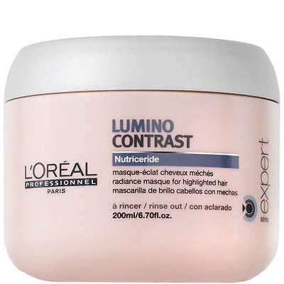 L'Oreal Professionnel Lumino Contrast Masque 200ml - For Highlighted Hair