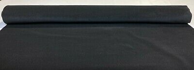 "Black Automotive Trunk Liner Upholstery Cloth Auto Pro Flexible 54""W Lining"