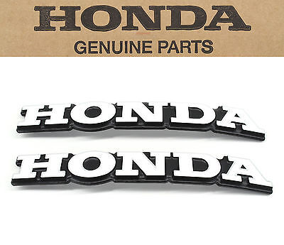 New Genuine Honda Fuel Gas Tank Emblems 69-76 CB750 K OEM Badges Set  #A36