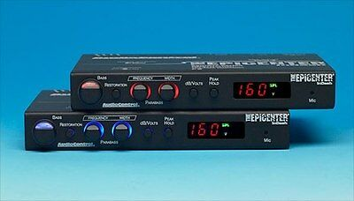 Audio Control Epic-160 Digital Bass Maximizer With Db Meter Readout