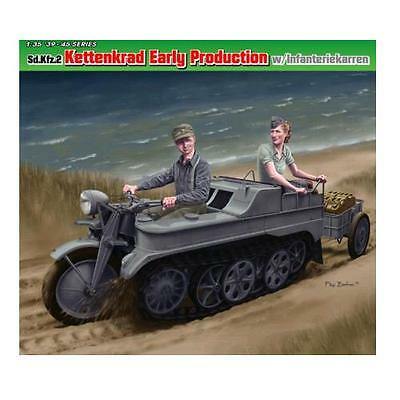 [Dragon] Model Kit 1/35 Sd.Kfz.2 Kettenkrad Early Production (6341)