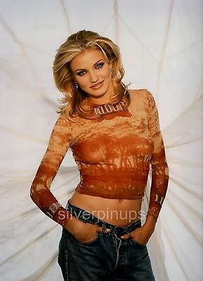 "Orig 1994 CAMERON DIAZ Risque.. Glamor Girl ""THE MASK"" Film Debut Portrait"