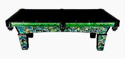 NEW Olhausen Sheraton Pool table- Custom one-off painted by Local Artist WOW!!!