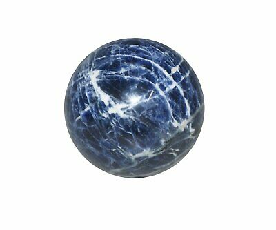 Sodalite Crystal Sphere Cut and Polished Mineral - 40mm Diameter